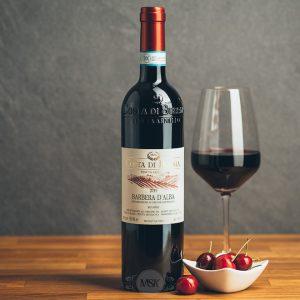 Flasche Rotwein Costa di Bussia Barbera d´Alba