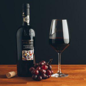 Flasche Rotwein Tenuta Ulisse Montepulciano d´Abruzzo
