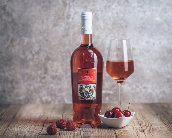 Flasche Roséwein Tenuta Ulisse Cerasuolo d'Abruzzo
