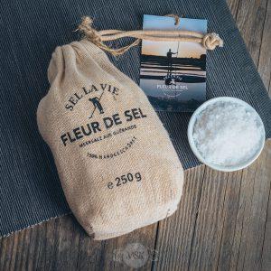 250 Gramm Packung Sel la Vie Fleur de Sel Meersalz