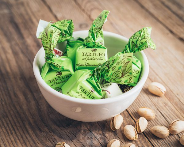 Antica Torroneria Tartufo al pistacchio