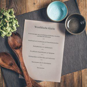 Kochkurs westfälische Küche