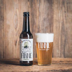 Flasche Finne Bio Craft Beer Helles Münsterländer Speisekammer