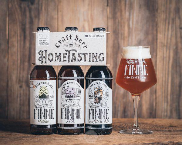 Finne Bio Craft Beer Hometasting Set Münsterländer Speisekammer