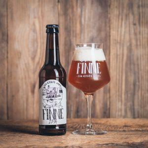 Flasche Finne Bio Craft Beer IPA Münsterländer Speisekammer