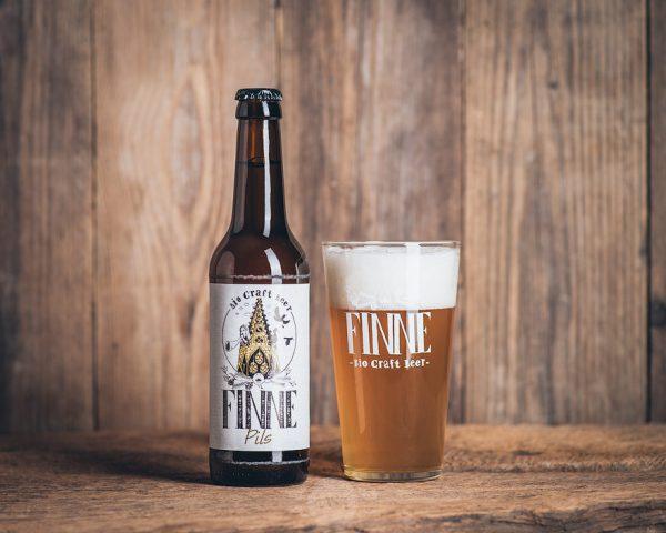 Flasche Finne Bio Craft Beer Pils Münsterländer Speisekammer