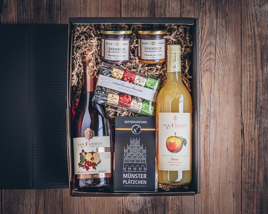 Präsent Box alkoholfrei Münsterländer Speisekammer