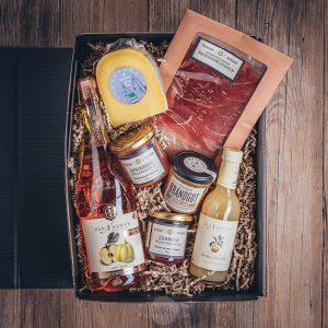Präsentkorb Frühstücksbox alkoholfrei Münsterländer Speisekammer