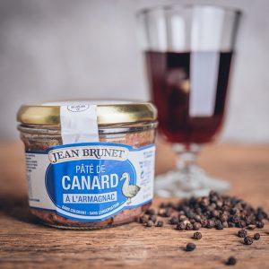 Glas Jean Brunet Entenpastete - Pate de Canard