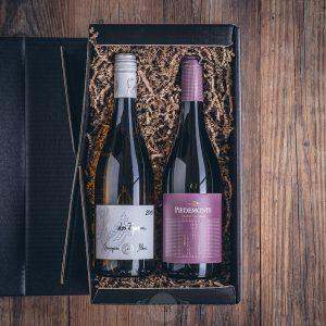 Präsent Weinbox spanisch von der Münsterländer Speisekammer