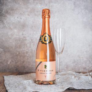 Flasche Bouvet Etienne Crémant de Loire Rosé Brut