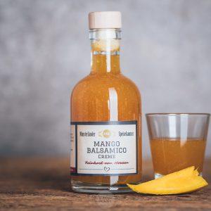 Flasche Mango-Balsamico von der Münsterländer Speisekammer